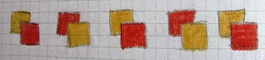 Cornicetta geometrica a quadri
