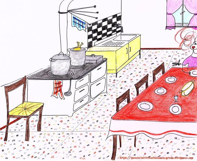 Pasqua nonna - disegno di Susanna Albini